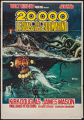 "Movie Posters:Science Fiction, 20,000 Leagues Under the Sea (Filmayer S.G., R-1970s). Spanish One Sheet (27"" X 39""). Science Fiction.. ..."