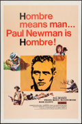 """Movie Posters:Western, Hombre (20th Century Fox, 1966). One Sheet (27"""" X 41""""). Western.. ..."""