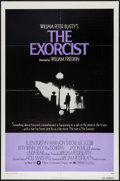 "Movie Posters:Horror, The Exorcist (Warner Brothers, 1974). One Sheet (27"" X 41""). Horror.. ..."