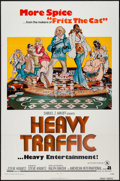 """Movie Posters:Animation, Heavy Traffic (American International, 1973). One Sheet (27"""" X 41"""")X Rated. Animation.. ..."""