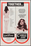 "Movie Posters:Sexploitation, The Libertine/Camille 2000 Combo & Other Lot (Audubon, 1970).One Sheets (2) (27"" X 41""). Sexploitation.. ... (Total: 2 Items)"