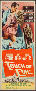 "Movie Posters:Film Noir, Touch of Evil (Universal International, 1958). Insert (14"" X 36"").Film Noir.. ..."