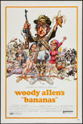 """Movie Posters:Comedy, Bananas (United Artists, 1971). One Sheet (27"""" X 41"""") Flat Folded.Comedy.. ..."""