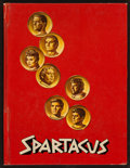 "Movie Posters:Action, Spartacus (Universal International, 1960). Hardcover Program(Multiple Pages, 8.5"" X 11.25""). Action.. ..."