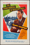 "Movie Posters:War, The Court-Martial of Billy Mitchell (Warner Brothers, 1956). OneSheet (27"" X 41""). War.. ..."