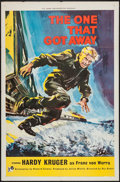 "Movie Posters:War, The One That Got Away (Rank, 1958). One Sheet (27"" X 41""). War....."