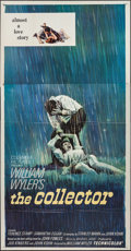 "Movie Posters:Thriller, The Collector (Columbia, 1965). Three Sheet (41"" X 79""). Thriller....."