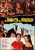 "Movie Posters:Action, The Revenge of Spartacus (Leone Film, 1965). Italian Photobusta (26.25"" X 37.5""). Action.. ..."