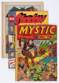 Golden Age (1938-1955):Miscellaneous, Comic Books - Assorted Golden Age Comics Group (Various Publishers, 1940s).... (Total: 4 Items)