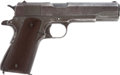 Handguns:Semiautomatic Pistol, U.S. Remington Rand Model 1911 A1 Semi-Automatic Pistol....