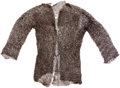 Militaria:Armor, 17th Century European Chainmail Shirt....