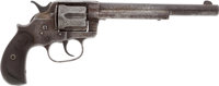 Engraved Colt Model 1878 Double Action Revolver