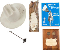 Lot of Five Items Belonging to Texas Ranger Captain Clint Peoples