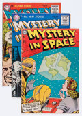 Golden Age (1938-1955):Science Fiction, Mystery in Space Group (DC, 1954-60) Condition: Average VG exceptas noted.... (Total: 13 Comic Books)
