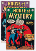 Golden Age (1938-1955):Horror, House of Mystery #3 and 4 Group (DC, 1951).... (Total: 2 ComicBooks)