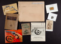 Advertising:Paper Items, Lot of Assorted Gun related Books, Catalogs and Accessories....