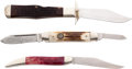 Edged Weapons:Knives, Lot of Three Assorted National Knife Collector's AssociationFolding Pocket Knives.... (Total: 3 )