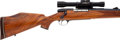 Long Guns:Bolt Action, .460 Weatherby Magnum Mark V Bolt Action Rifle with TelescopicSight, owned by Warren Page. . ...