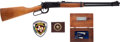 Western Expansion:Cowboy, Lot of Texas Ranger Commemorative Items.... (Total: 3 Items)