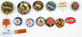 Miscellaneous, Lot of Fifteen Vintage Ammunition/Firearms/Tool ManufacturerAdvertising Buttons. ...