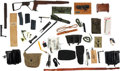 Arms Accessories, Large Lot of Miscellaneous Militaria Items....
