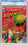Golden Age (1938-1955):Science Fiction, Strange Adventures #6 (DC, 1951) CGC VF- 7.5 Off-white pages....