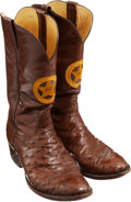 Miscellaneous, L.M.Easterling Custom Boots Belonging to Texas Ranger Lt. JimDenman....