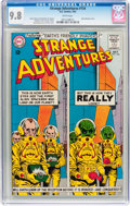 Silver Age (1956-1969):Science Fiction, Strange Adventures #154 (DC, 1963) CGC NM/MT 9.8 White pages....