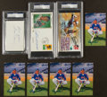 Miscellaneous Collectibles:General, Misc. Sports Stars Signed Memorabilia Lot of 8....