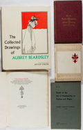 Books:Art & Architecture, [Art and Illustration]. Beardsley and Illumination [subjects]. Group of Five Books. Various, 1862-1967. Good or better condi... (Total: 5 Items)