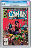 Modern Age (1980-Present):Superhero, Conan the Barbarian #137 (Marvel, 1982) CGC NM/MT 9.8 Off-white towhite pages....