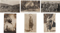 Western Expansion:Cowboy, Real Photo Postcards: Six California Indian Scenes, ... (Total: 6 Items)