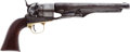 Handguns:Single Action Revolver, Colt Model 1860 Army Percussion Revolver....