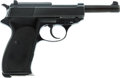 Handguns:Semiautomatic Pistol, Walther P1 Semi-Automatic Pistol and Holster....