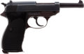 Handguns:Semiautomatic Pistol, German Walther ac 44 P-38 Semi-Automatic Pistol and Holster....