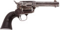 Handguns:Single Action Revolver, Colt Single Action Frontier Six-Shooter. ...