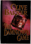 Books:Horror & Supernatural, Clive Barker. SIGNED. The Damnation Game. Ace/Putnam, 1987.First American edition, first printing. Signed by ...