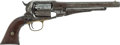 Handguns:Single Action Revolver, Remington New Model Single Action Percussion Revolver....