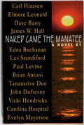 Books:Mystery & Detective Fiction, Carl Hiaasen, Dave Barry, et al. SIGNED. Naked Came the Manatee. Putnam, 1996. First edition, first printing. Sign...