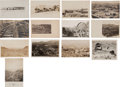 Western Expansion:Goldrush, Real Photo Postcards: 13 Nevada Town Scenes,... (Total: 13 Items)
