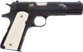 Handguns:Semiautomatic Pistol, Engraved Colt Model 1911 Super 38 Semi-Automatic Pistol....