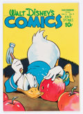 Golden Age (1938-1955):Cartoon Character, Walt Disney's Comics and Stories #62 (Dell, 1945) Condition:VF+....