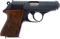 Handguns:Semiautomatic Pistol, Walther RZM Marked PPK Semi-Automatic Pistol....