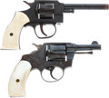 Handguns:Double Action Revolver, Lot of Two Double Action Revolvers.... (Total: 2 Items)