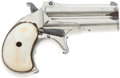 Handguns:Derringer, Palm, Remington Second Model Over & Under Derringer....