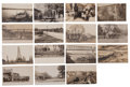 Western Expansion:Goldrush, Real Photo Postcards: 15 Nebraska Town Scenes, ... (Total: 15Items)