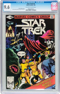 Modern Age (1980-Present):Science Fiction, Star Trek #4 (Marvel, 1980) CGC NM+ 9.6 Off-white to white pages....