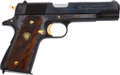 Handguns:Semiautomatic Pistol, Auto Ordnance Corporation U.S. Army Commemorative Model 1911A1Semi-Automatic Pistol....