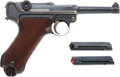 Handguns:Semiautomatic Pistol, 1918 Dated DWM German Luger Semi-Automatic Pistol.... (Total: 2 Items)