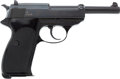 Handguns:Semiautomatic Pistol, Boxed Walther P38 Semi-Automatic Pistol, Made in W. Germany....